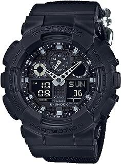 G-Shock Analog Digital Nylon Band Resin Sports Watch (Black)