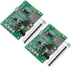 MakerHawk 2pcs Audio Amplifier Board Module Dual Mode 5.0 Bluetooth Lossless Bt201 TF Card U Disk Ble Spp Serial Transparent Transmission at