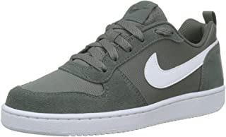 Nike Australia Court Borough Low PE Boys Trainers, Mineral Spruce/White-White
