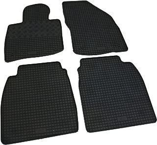 Auto Fu/ßmatten Gummi Set 4-teilig passgenau schwarz