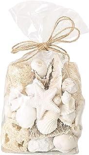 Home Collection Maison Ameublement Accessoires Décoration d'Intérieur Potpourri Souvenirs de la Mer Beige Blanc