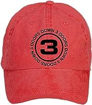 Tommery Unisex 3 Doors Down Hip Hop Baseball Caps