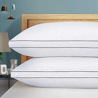 HOTOZON Lot de 2 oreillers Queen pour dormir, oreillers hypoallergéniques de qualité hôtelière, doux et offrant un bon mai...
