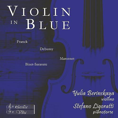 Violin in Blue