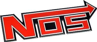 Nitrous Oxide NOS System Aluminum Badge Emblem Boost