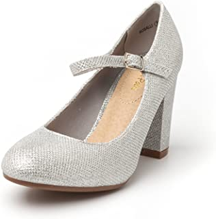 Gloria Women's New Classic Elegant Versatile Stiletto Dress Platform Pumps Heels Shoes