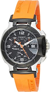 Tissot Womens Round Black Dial Silicone Bracelet Watch [T048.217.27.057.00]
