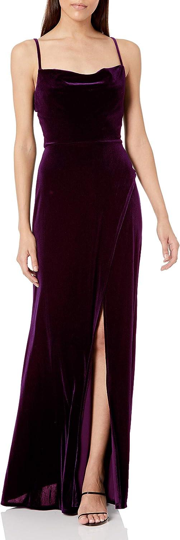 Speechless Women's Full Length Sleeveless Party Dress
