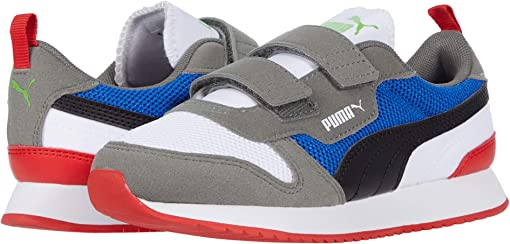 Puma White/Puma Black/Ultra Gray