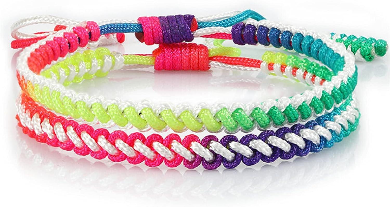 GTHT Men Bracelets Handmade Bracelet Adjustabl Rope Fashion Easy-to-use Knot shop