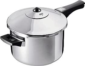 Kuhn Rikon Duromatic Stainless-Steel Saucepan Pressure Cooker - 3.7-Qt