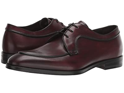 Canali Bleached Calf Oxford (Burgundy) Men