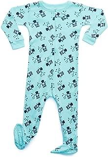 Baby Boys Footed Pajamas Sleeper 100% Cotton Kids & Toddler Owl Pjs (6 Months-5 Toddler)