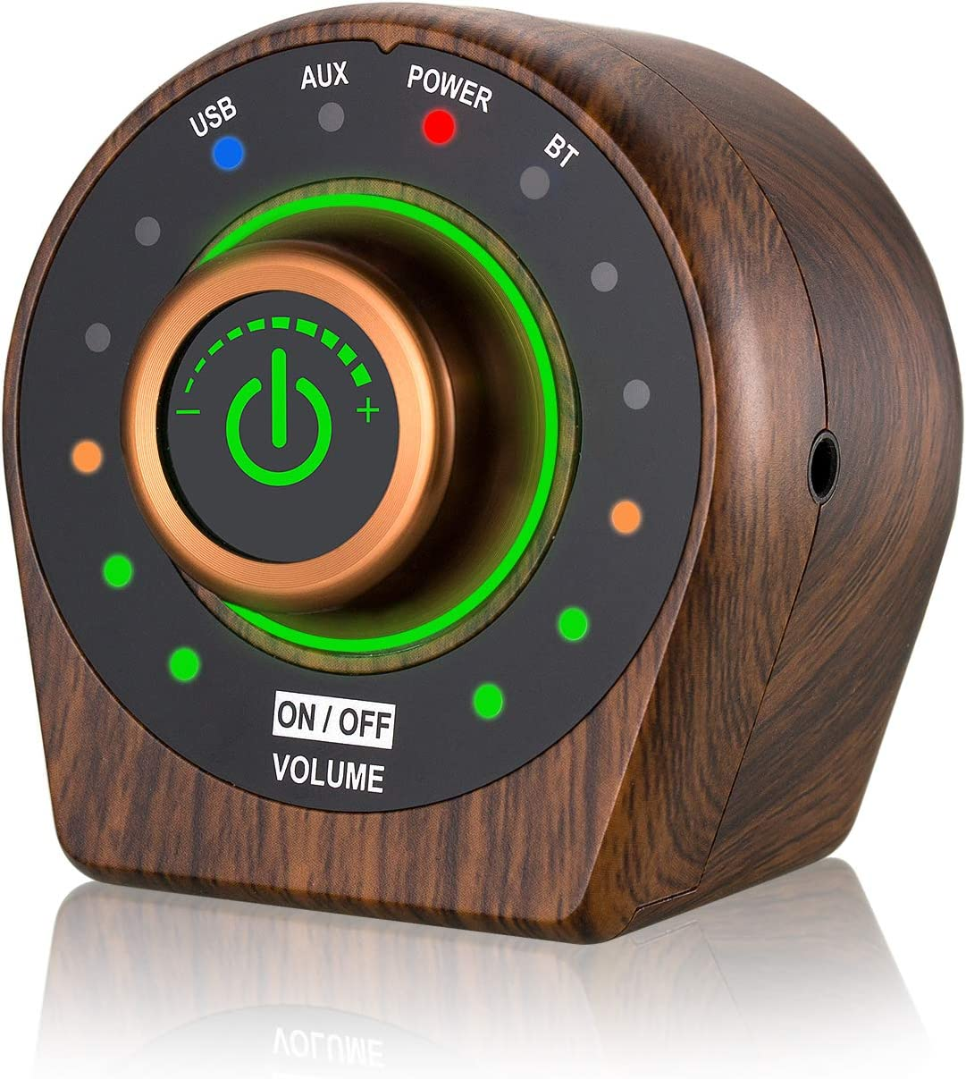 Nobsound Mini Bluetooth 5.0 Power Amplifier Class D Hi-Fi Stereo Amp Home Speaker