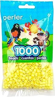 Perler Beads 1,000 Per Package - Pastel Yellow (Pack of 3)