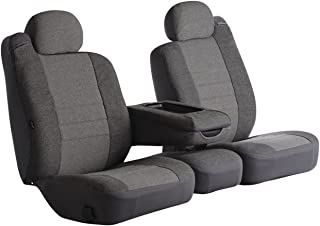 Fia OE37-6 GRAY Custom Fit Front Seat Cover Split Seat 60/40 - Tweed, (Gray)