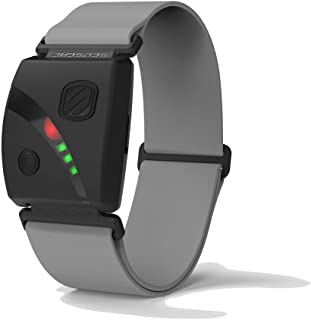 Scosche Rhythm24 - Waterproof Armband Heart Rate Monitor HRM Optical with Dual Band ANT+ and BLE Bluetooth Smart