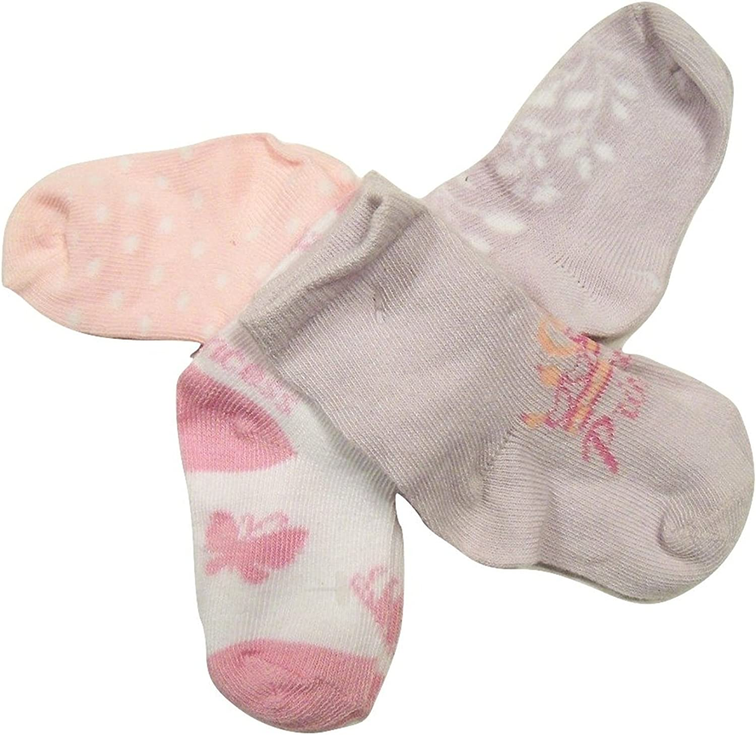 Disney Girls 4 Memphis Mall Pack New Shipping Free Shipping Infant Socks Princess ~ Months 12-24 Size