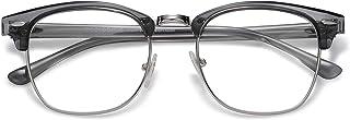 SojoS Men's Classic Square Sunglasses