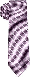 DKNY Mens Silk Striped Neck Tie