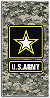 Island Gear United States Army Beach Towel 30 x 60 Inches Large Camo