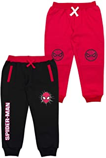 Marvel Clothes 2-Pack Black Panther or Spiderman Boys Joggers Pants