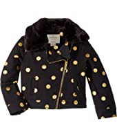 Kate Spade New York Kids - Dot Moto Jacket (Toddler/Little Kids)
