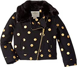 Dot Moto Jacket (Toddler/Little Kids)