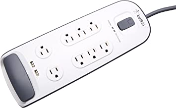 Belkin SurgePro 8-Outlets Surge Suppresor BV108050-06