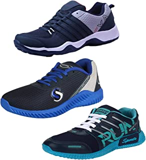 Earton Men Combo Pack of 3 Sports Running Shoe