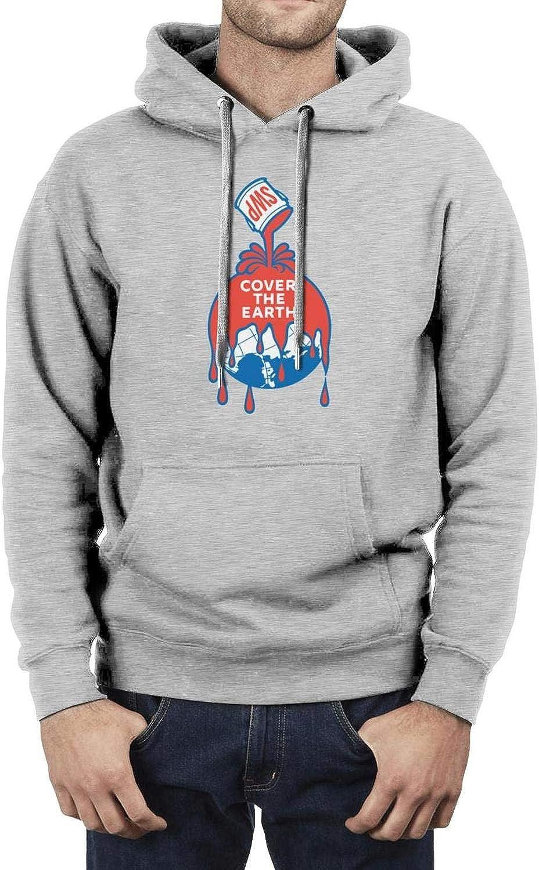 Sherwin-Williams- Fashion Hooded Sweatshirt Cool Winter Pullover Hoodied Vintage Sweatshirts