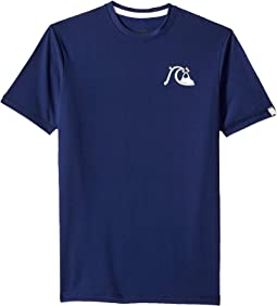 Bubble Logo Short Sleeve Surf Tee (Big Kids)
