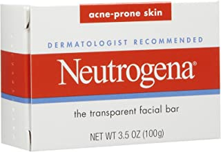 Neutrogena, The Transparent Facial Bar, Acne Prone Skin, 3.5 oz (99 g)