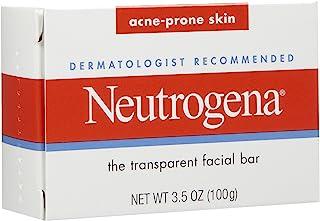 شريط الوجه الشفاف، للبشرة المعرضة لحب الشباب من نيوتريجينا، 3.5 اونصة (99 غرام)
