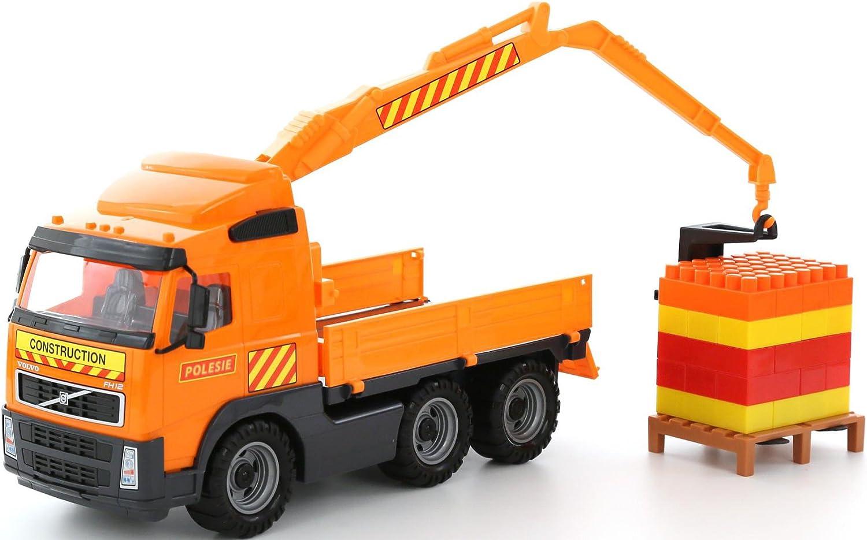 Polesie Max 52% OFF 8800 Volvo Powertruck Store Truck Arm Construc with Crane