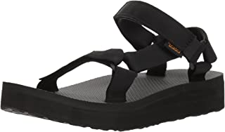 Teva Women's MIDFORM Universal Open Toe Fashion Sandals (Women), Black