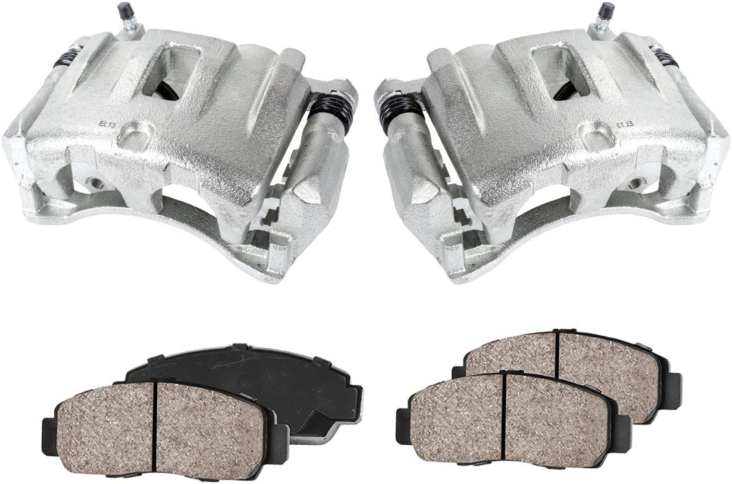 Callahan CCK11542 quality assurance 2 FRONT Premium S Loaded Assembly Super sale OE Caliper