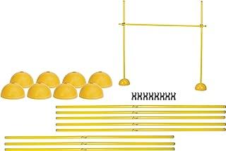 Champion Sports Agility Hurdle Set, Yellow
