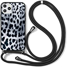 """Yoedge Crossbody Lanyard Case for vivo iQOO 7 (5G) 6.62"""",Stylish Matte Silicone Adjustable Necklace Strap Lanyard Women Gi..."""