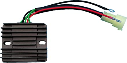 Tuzliufi Replace Voltage Regulator Rectifier Mercury 75-90 HP 4 Stroke Marine Yamaha 80-100HP Outboard 2000-2003 2004 2005 804278A12 804278T11 67F-81960-12-00 67F-81960-11-00 67F-81960-10-00 New Z34