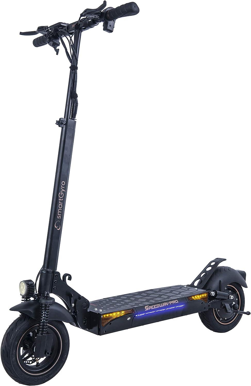 SmartGyro SpeedWay PRO - Patinete Eléctrico de 1200 W con 3 ...