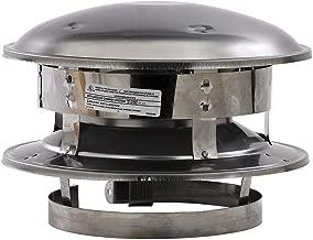 Selkirk Metalbestos 6T-CT 6-Inch Stainless Steel Round Top