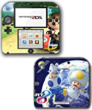 Mario Kart 8 Deluxe Animal Crossing Video Game Vinyl Decal Skin Sticker Cover for Nintendo 2DS System Console