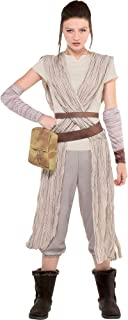 Costumes USA Star Wars 7: The Force Awakens Rey Costume for Adults, Includes a Jumpsuit and Arm Warmers