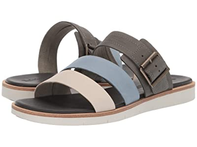 Timberland Adley Shore Slide (Medium Grey Full Grain) Women