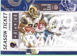 Steven Jackson 2009 Playoff Contenders #91 - St. Louis Rams