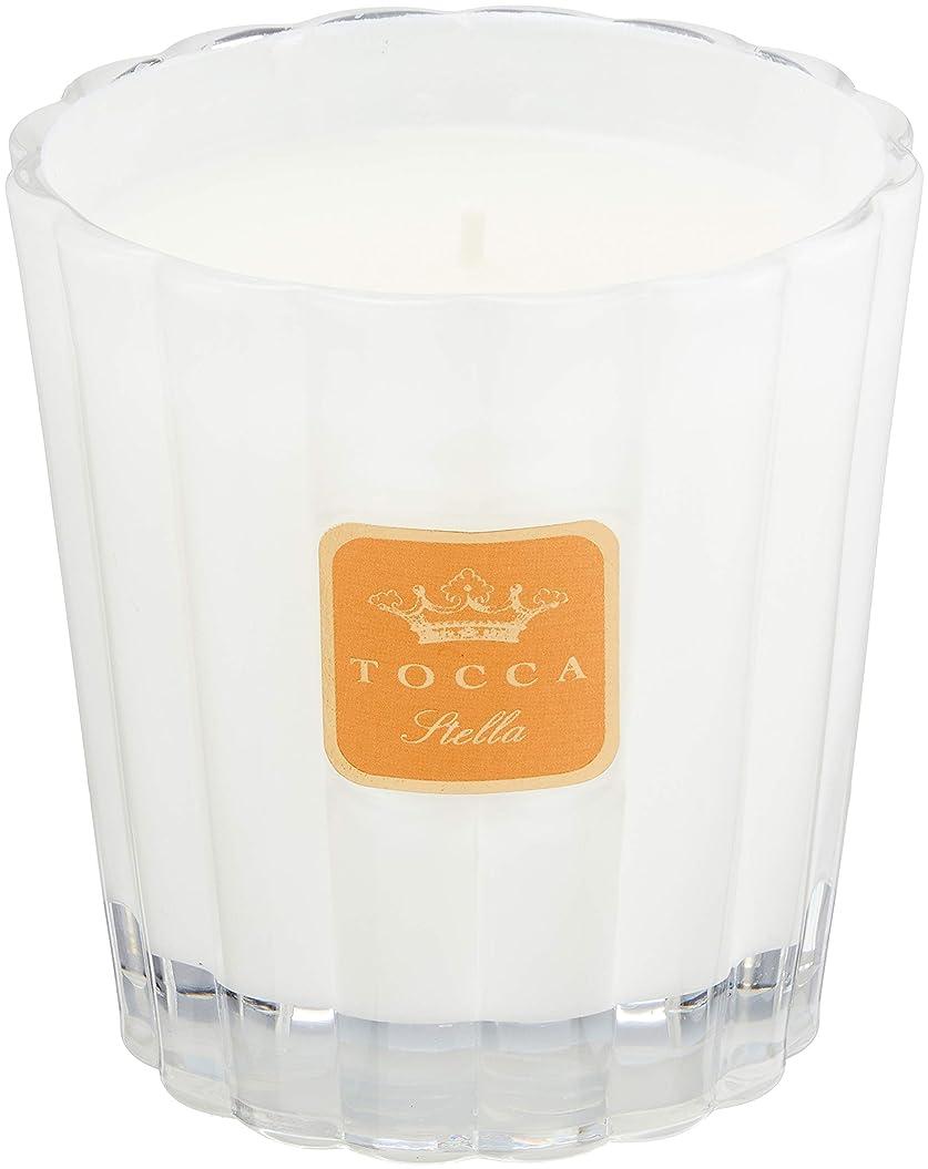 フローパプアニューギニア受け継ぐトッカ(TOCCA) キャンドル ステラの香り 約287g (ろうそく フレッシュでビターな香り)