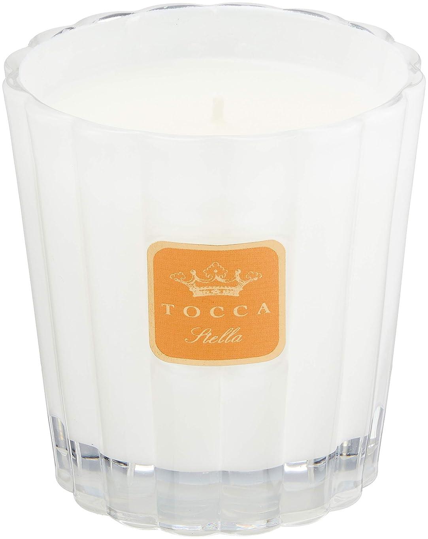 モーター蛾上へトッカ(TOCCA) キャンドル ステラの香り 約287g (ろうそく フレッシュでビターな香り)
