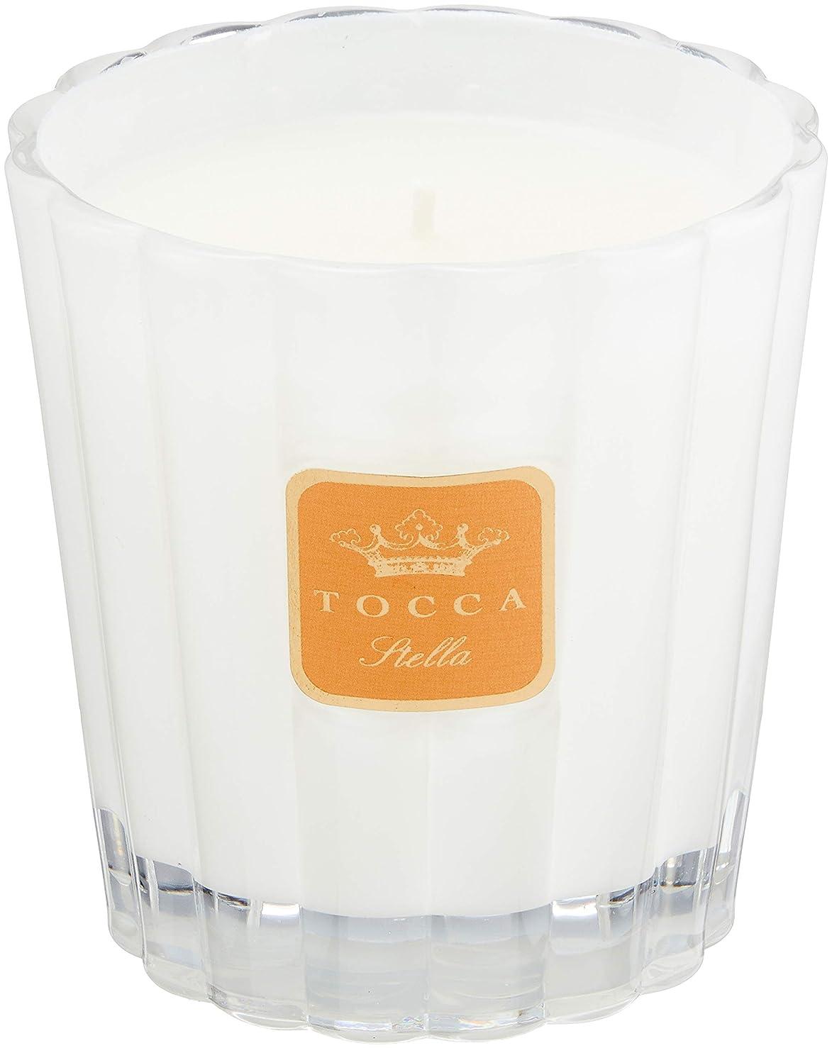 許容デュアル優先権トッカ(TOCCA) キャンドル ステラの香り 約287g (ろうそく フレッシュでビターな香り)