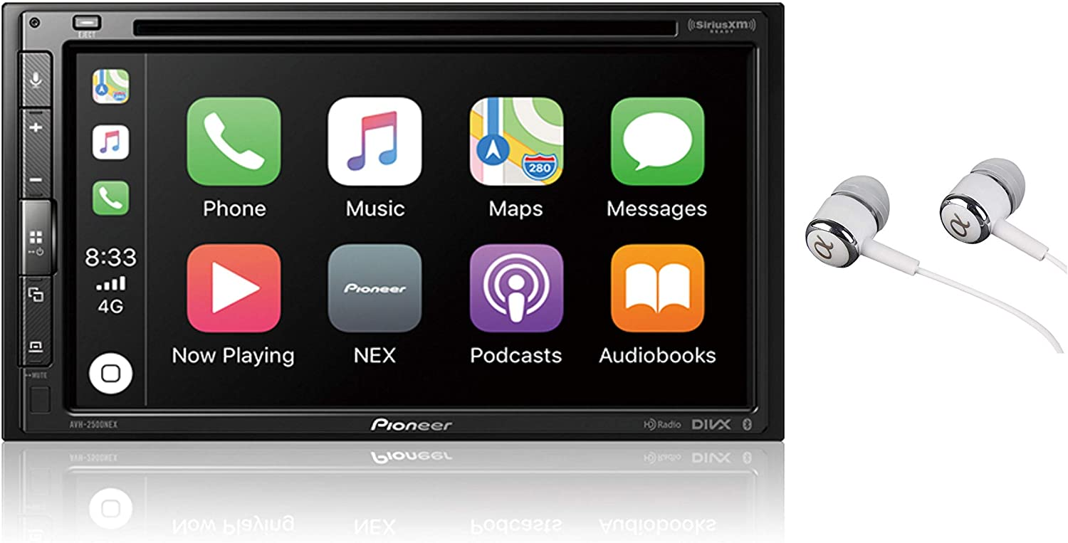Fees free Pioneer AVH-2500NEX Built-in Android Auto High order and CarPlay Apple Doub